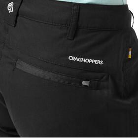 "Craghoppers Traverse Pantalones 31"" Mujer, negro"